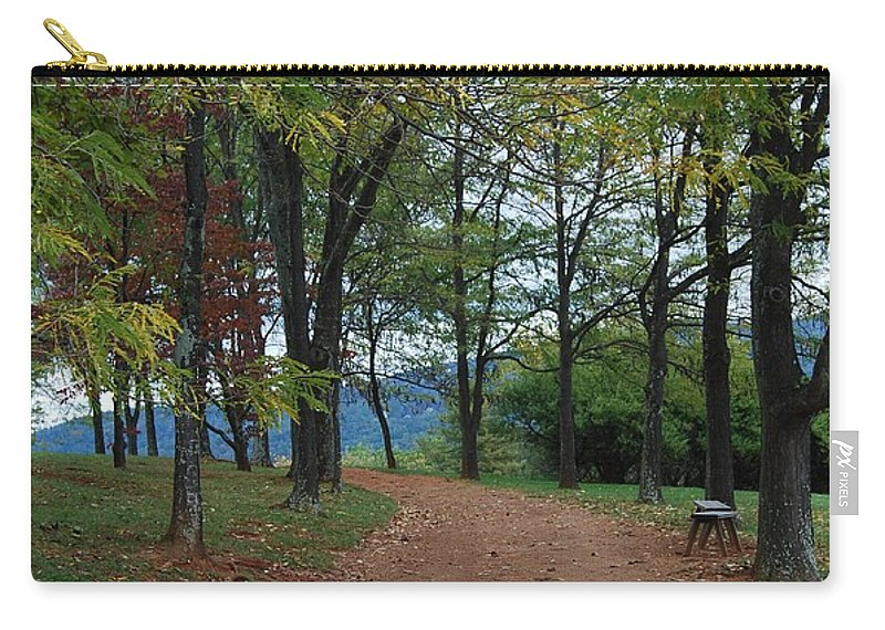 Path Carry-all Pouch featuring the photograph Pathway by Eric Liller