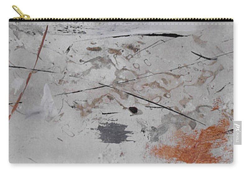 Abstract Carry-all Pouch featuring the painting Righteous Judgment Two Long by Ruth Palmer