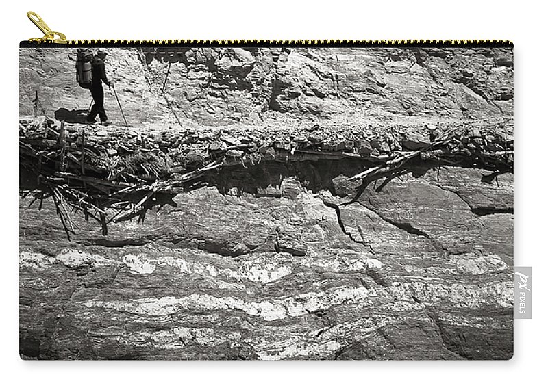Alone Carry-all Pouch featuring the photograph The Path by Konstantin Dikovsky