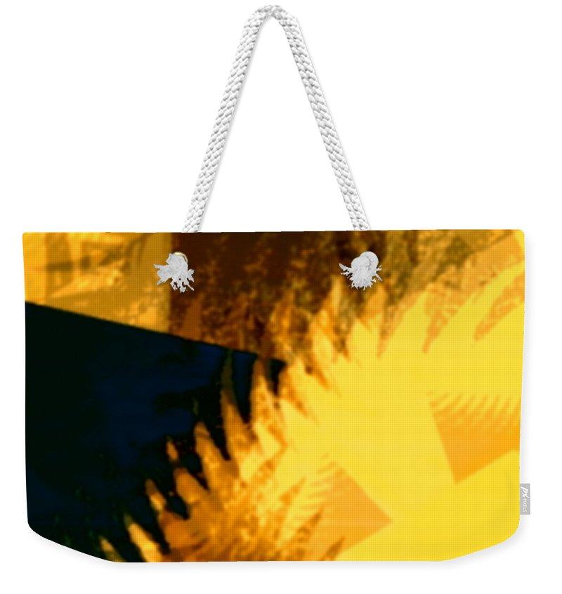 Art Digital Art Weekender Tote Bag featuring the digital art Change - Leaf12 by Alex Porter