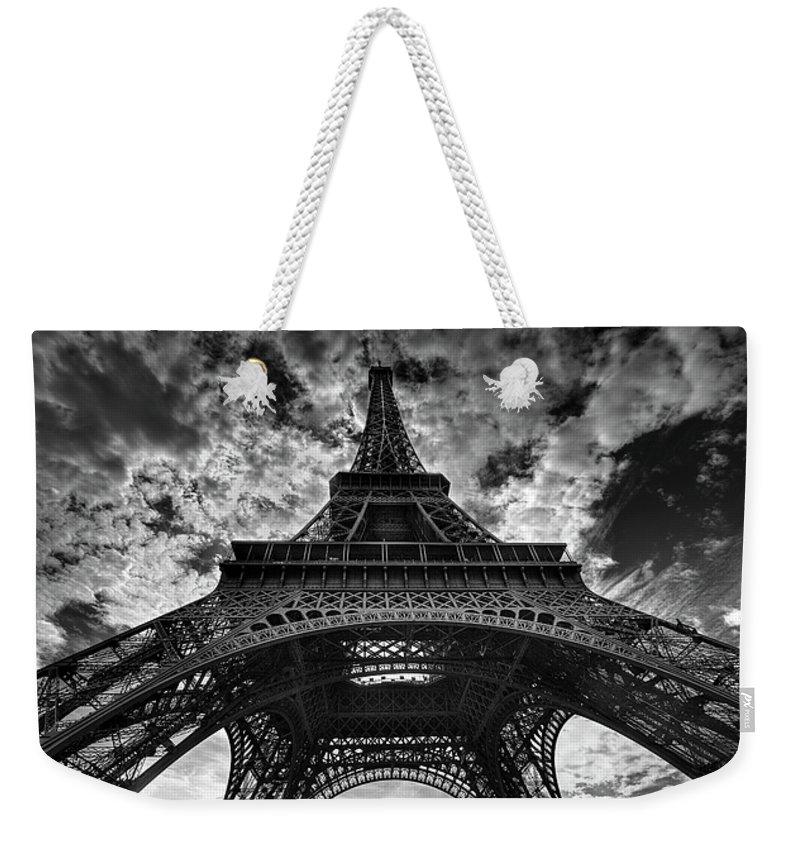 Paris Weekender Tote Bags