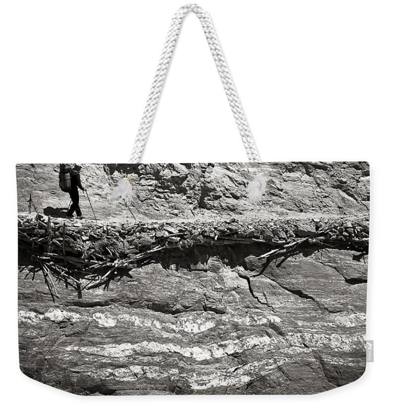 Alone Weekender Tote Bag featuring the photograph The Path by Konstantin Dikovsky