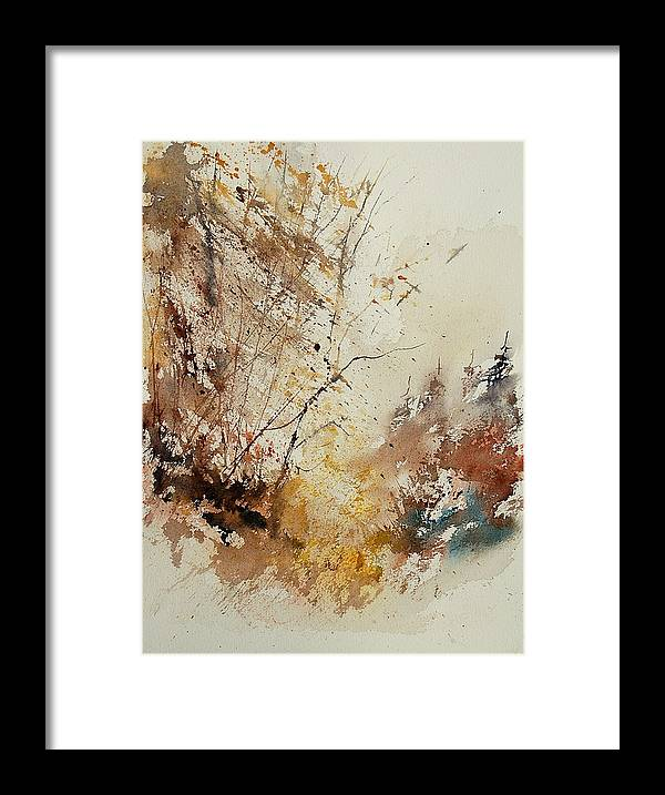 Tree Framed Print featuring the painting Watercolor 903012 by Pol Ledent