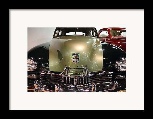 Transportation Framed Print featuring the photograph 1947 Kaiser by Wingsdomain Art and Photography
