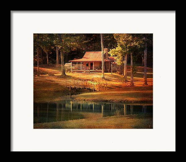 Beautiful Framed Print featuring the photograph A Place To Dream by Jai Johnson