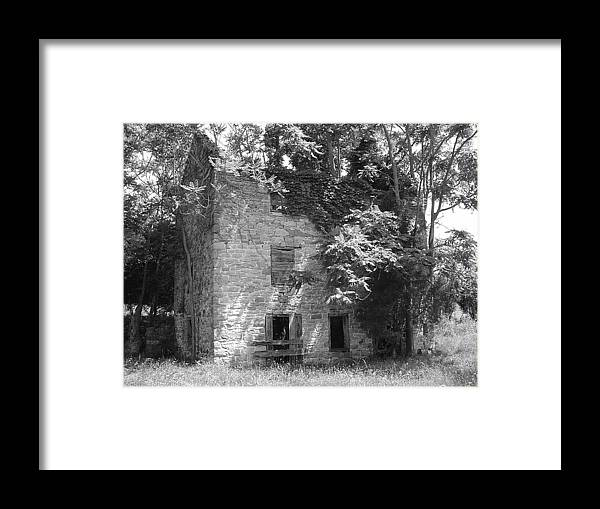 Ruin Framed Print featuring the photograph Ancestral Home by Richard Marcus