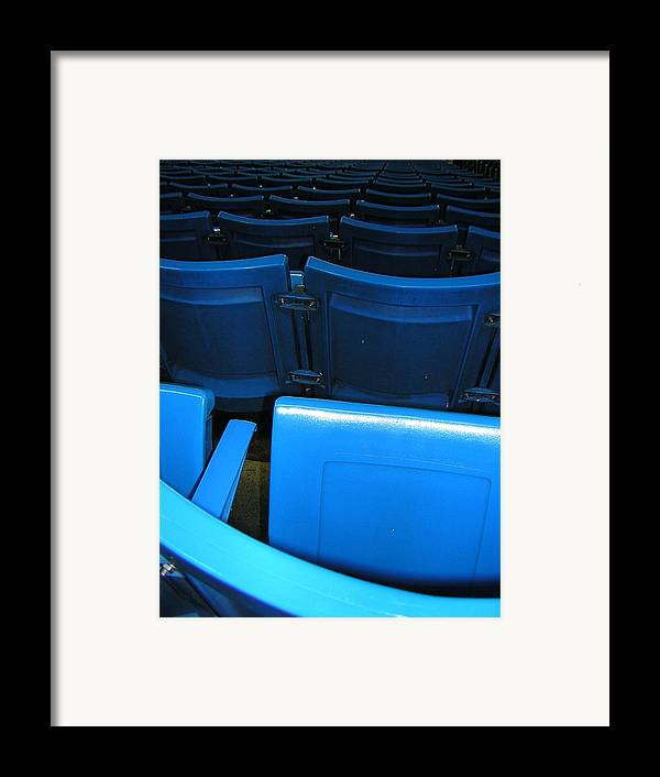 Blue Jays Framed Print featuring the photograph Blue Jay Seats by Heather Weikel