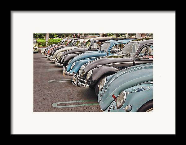 Vw Framed Print featuring the photograph Bugs by Bill Dutting
