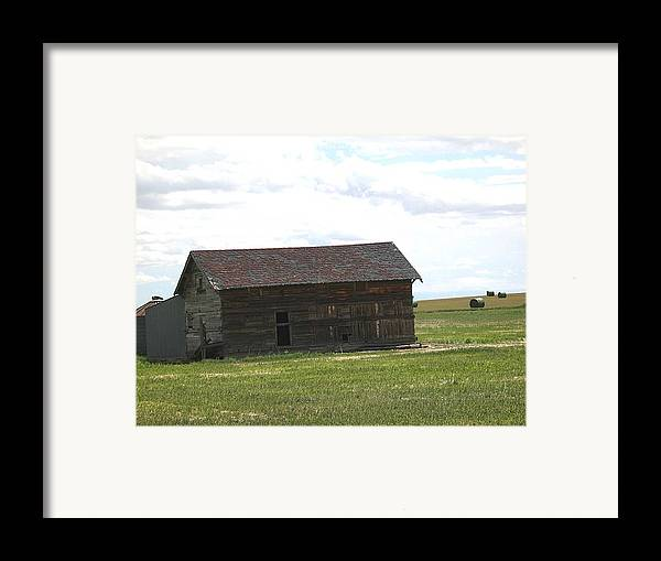Landscape Framed Print featuring the photograph Grassland Farm by Margaret Fortunato