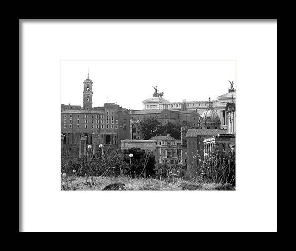 Landscape Framed Print featuring the photograph Great City by Shelby Eagleburger