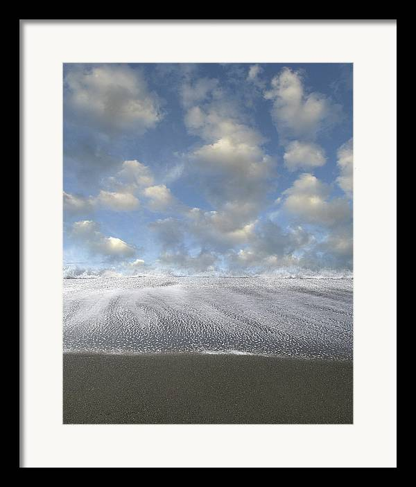 Seashore Framed Print featuring the photograph New Horizon by Bob Bennett