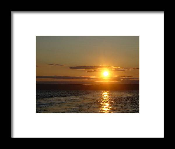 Sunset Framed Print featuring the photograph Sunset On The Horizon 7 by Sharon Stacey
