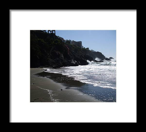 Ocean Framed Print featuring the photograph The Beauty by Sylvia Pekarek