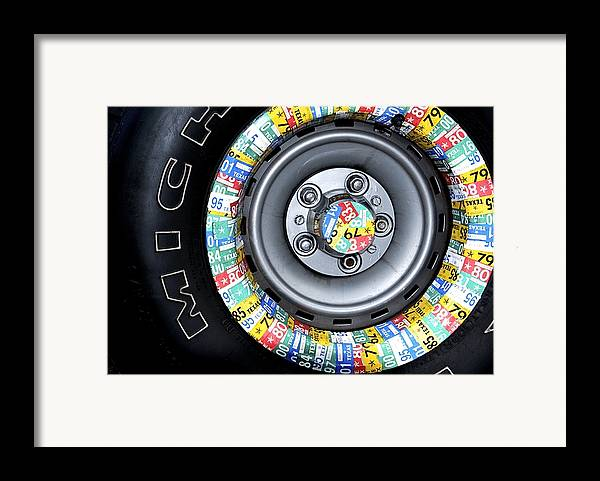 Michelin Tires Framed Print featuring the photograph Time On Your Hands by Sherry Davis