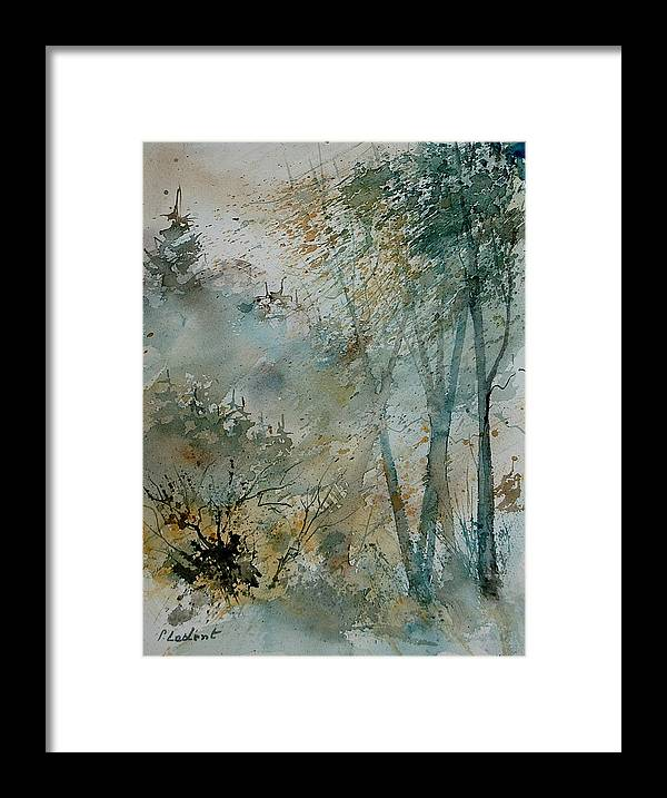 Tree Framed Print featuring the painting Watercolor 051008 by Pol Ledent