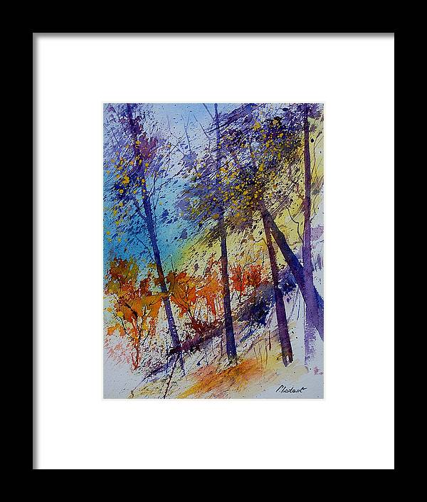 Spring Framed Print featuring the painting Watercolor 131108 by Pol Ledent