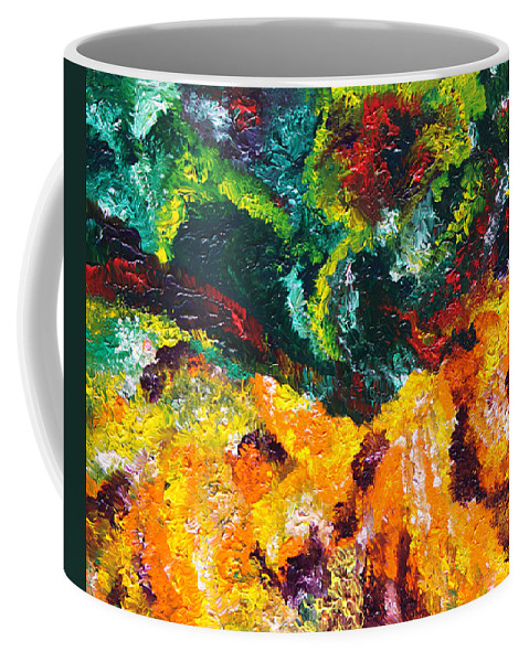Fusionart Coffee Mug featuring the painting Anemone by Ralph White