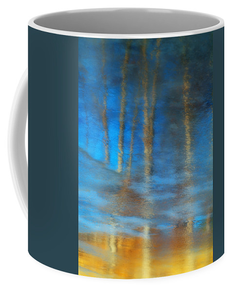 Ice Coffee Mug featuring the photograph Ice Reflections by Tara Turner