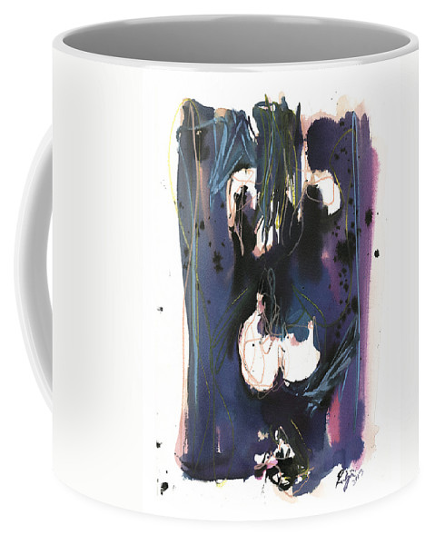 Figure Coffee Mug featuring the painting Kneeling by Robert Joyner