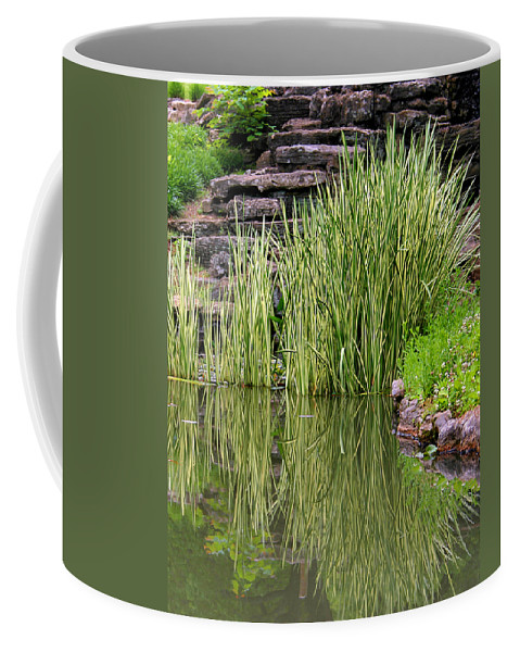Reeds Coffee Mug featuring the photograph Peaceful Spot by Kristin Elmquist