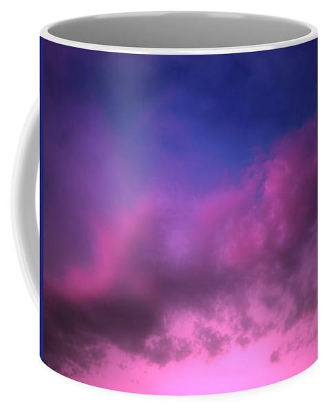 Clouds Coffee Mug featuring the photograph Purple Haze by Tara Turner