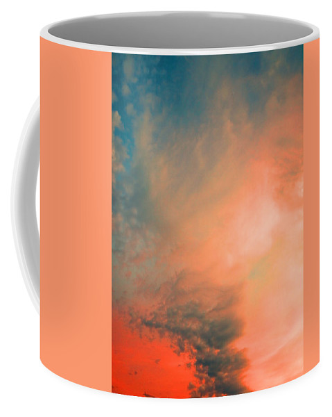 Clouds Coffee Mug featuring the photograph The Explosion by Tara Turner