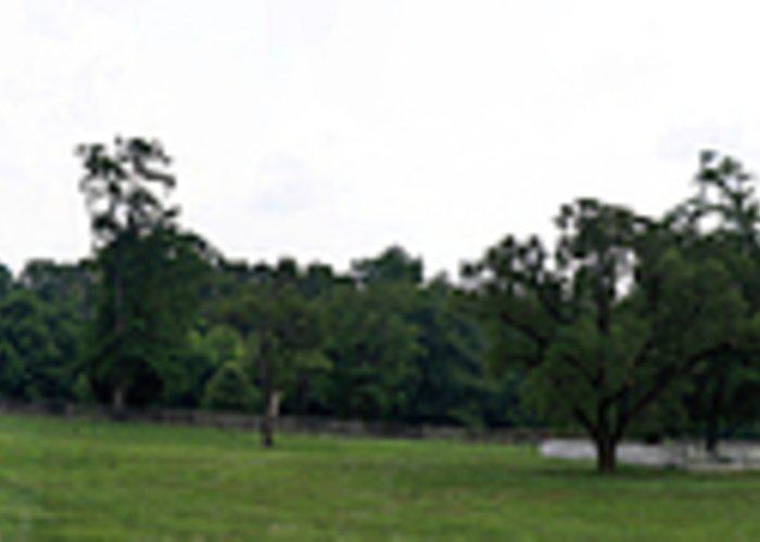Appomattox Greeting Card featuring the photograph Historic Appomattox Panorama by Teresa Mucha
