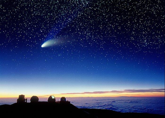 Comet Halebopp Greeting Cards