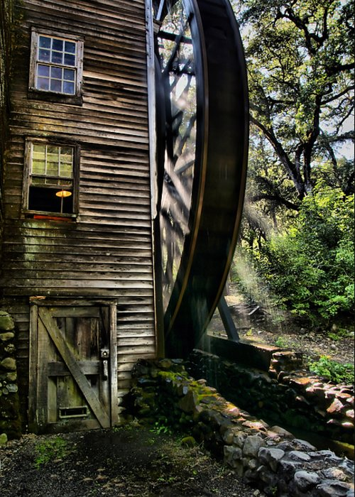 Bale Grist Mill Greeting Cards