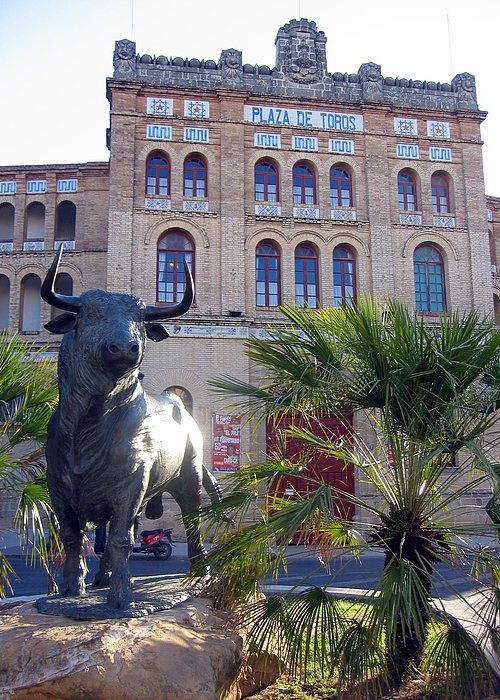 Spain Greeting Card featuring the photograph Plaza De Toros by Lindsey Orlando