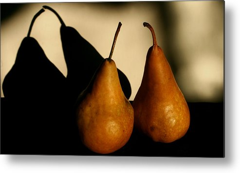 Still Life Metal Print featuring the photograph The Kiss by Steve Augustin