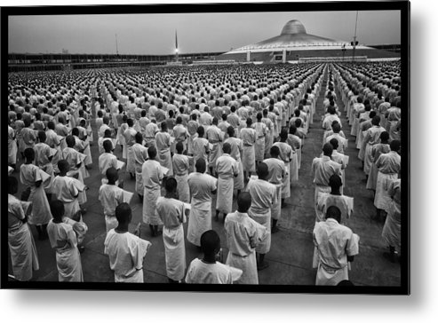 Thailand Metal Print featuring the photograph Wat Dhamma 1 by David Longstreath