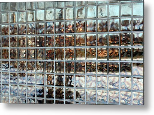 Modern Photgraphy Metal Print featuring the photograph Fractured Reflections by Scott Heister