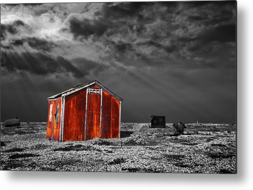 Corrosion Metal Print featuring the photograph Rusting Away by Meirion Matthias