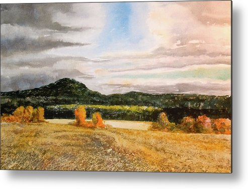 Metal Print featuring the painting Townsend Field IIi by Harding Bush