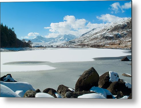 Snowdon Metal Print featuring the photograph Snowdon Horseshoe by Gary Maynard