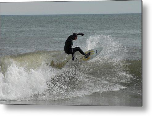 Surfer Art Metal Print featuring the photograph Surfing 115 by Joyce StJames