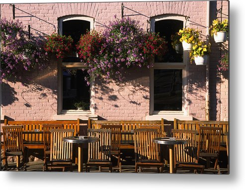 Quebec Metal Print featuring the photograph Pink Hotel Quebec City by Art Ferrier