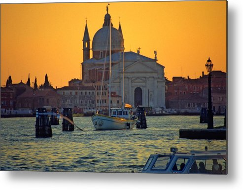 Venice Metal Print featuring the photograph Church Of The Redentore In Venice by Michael Henderson