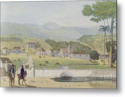 Montpelier Metal Print featuring the painting Montpelier Estates - St James by James Hakewill