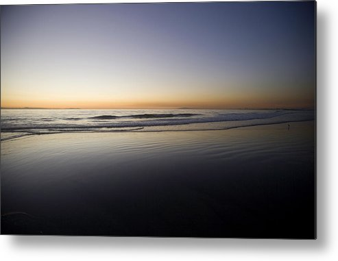 Water Metal Print featuring the photograph Pacific Ocean Dusk by Brad Rickerby