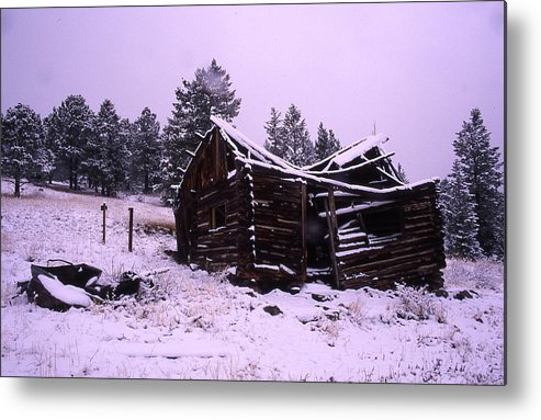 Winter Metal Print featuring the photograph Winter At The Homestead by Cynthia Cox Cottam