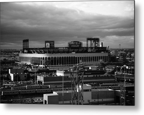 America Metal Print featuring the photograph Citi Field - New York Mets by Frank Romeo