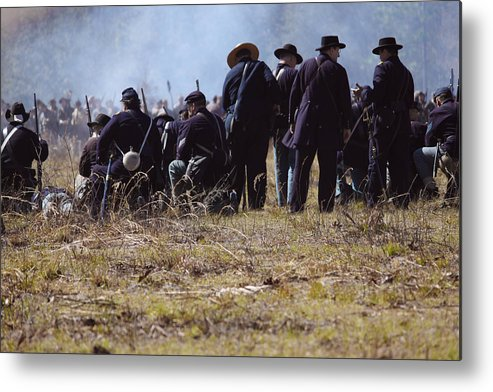 Civil Metal Print featuring the photograph Civil War by Kitty Ellis