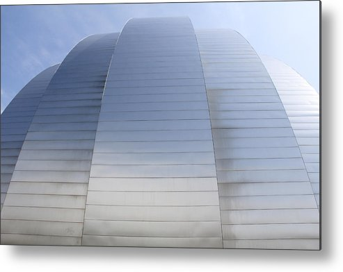Architecture Metal Print featuring the photograph Kauffman Center For Performing Arts by Mike McGlothlen