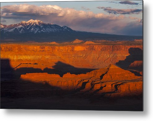 Canyonlands Metal Print featuring the photograph Canyonlands Light by Joseph Rossbach