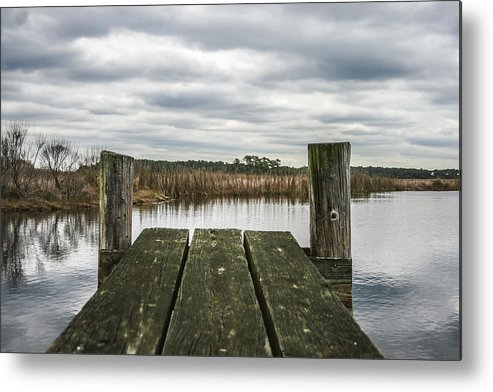 Landscape Metal Print featuring the photograph Clear View by Steven Taylor