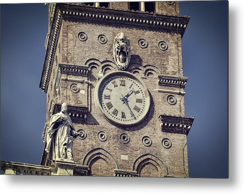 Ancient Metal Print featuring the photograph Daily Rhythms by Joan Carroll