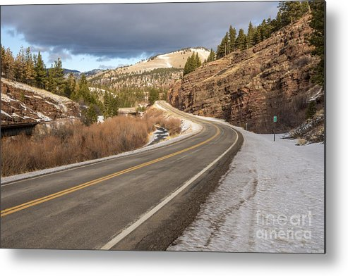 Beauty Metal Print featuring the photograph Mile One by Sue Smith