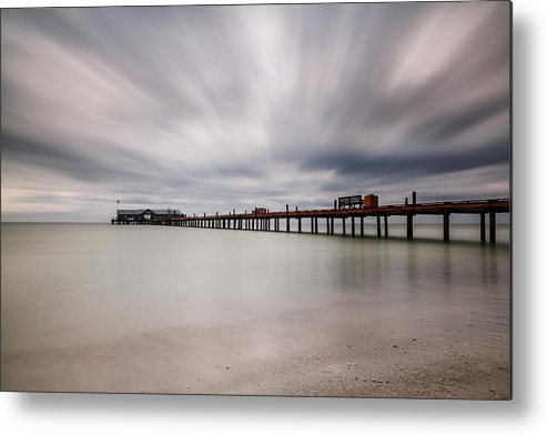 Usa Metal Print featuring the photograph On A Stormy Day by Claudia Domenig